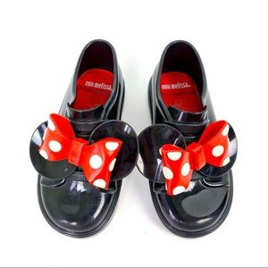 Mini Melissa scented girls slip on shoes size 9
